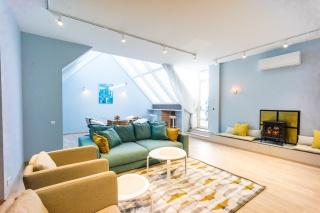 арендовать авторскую 4-комнатную квартиру в новом доме С-Петербург