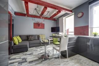 современная 3-комнатная квартира в аренду в историческом центре СПБ